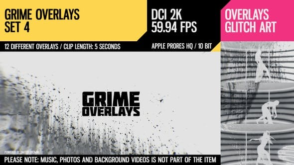 Thumbnail for Grime Overlays (2K Set 4)