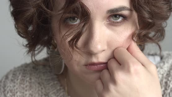Cover Image for Stressed Young Woman