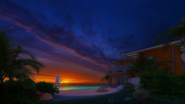 Thumbnail for Sunset At BeaCh 4k