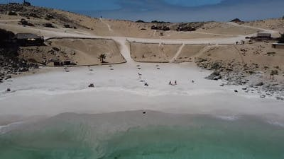 Empty Beach during the Coronavirus Global Pandemic.