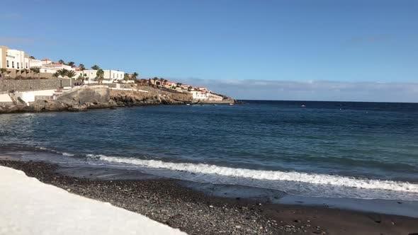 Thumbnail for The black stone beach in Poris de Abona