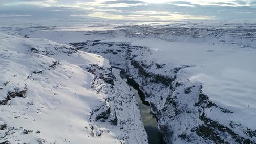 Snowy Valley and River