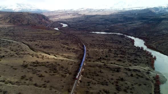 Thumbnail for Train Travel Near the River