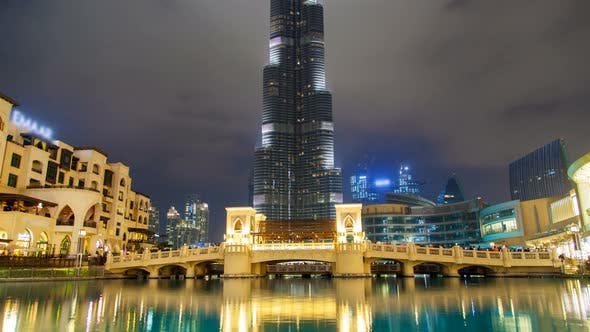Thumbnail for Burj Khalifa Lake Time Lapse