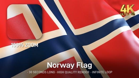 Norway Flag - 4K
