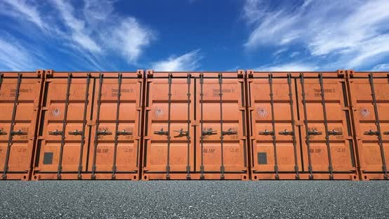 Cover Image for Shipping Container Doors Opening