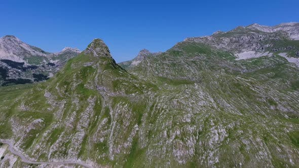 Thumbnail for Aerial View on Mountains in the Park Durmitor