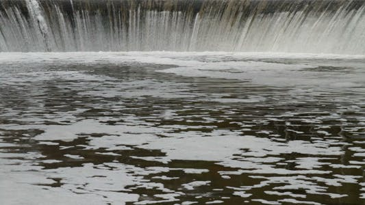 Thumbnail for Waterfall From a Dam