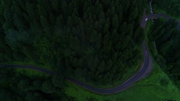 Thumbnail for Mountain Road Car Driving