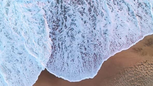 Thumbnail for Big Waves Crashing on the Beach