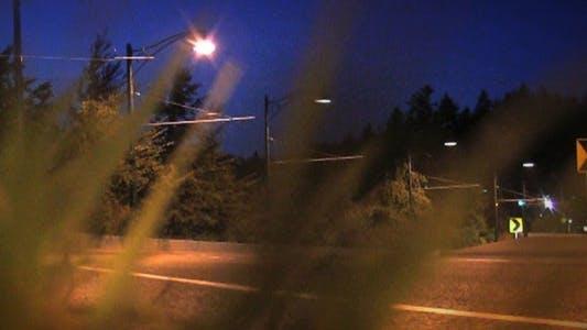 Cover Image for Night Road Beams II - HD Loop