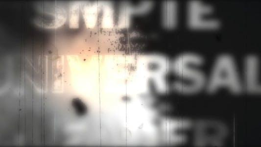 Thumbnail for Damaged Retro Header
