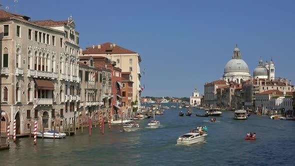 Thumbnail for Grand Canal and Basilica Santa Maria Della Salute