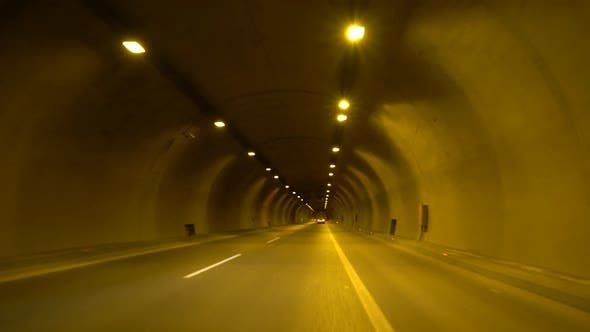 Thumbnail for Driving Through A Long Tunnel