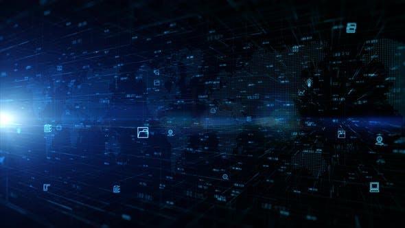 Technology Digital Data Network 927