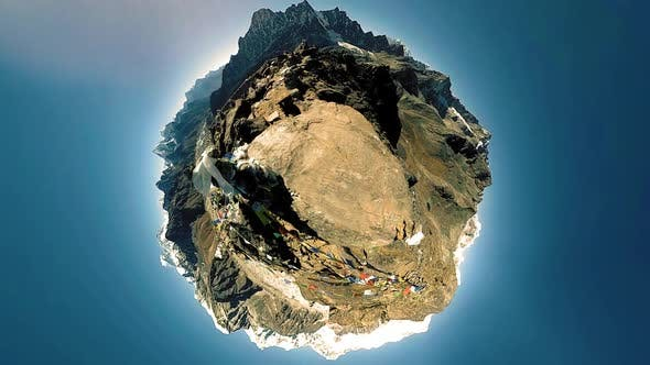 360 VR Gokyo Ri Mountain Top
