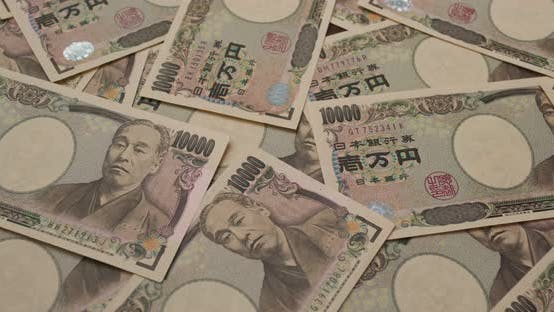 Thumbnail for Stack of the Japanese banknote