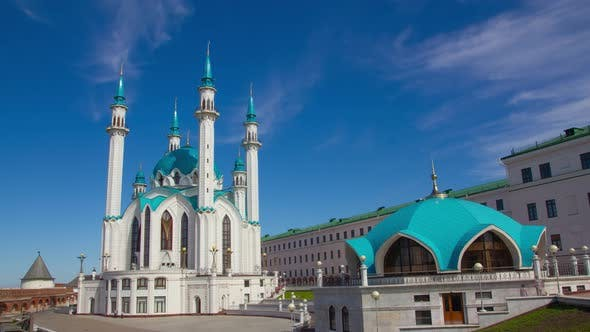 Kul Sharif Mosque in Kazan Kremlin, Russia