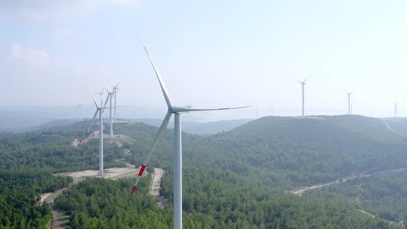 Thumbnail for Windkraftanlagen Spinning