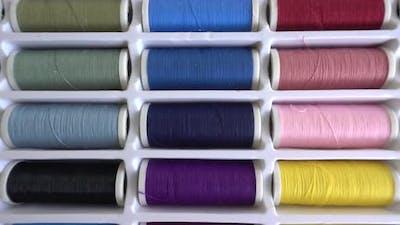 Multi-Colored Thread Reels