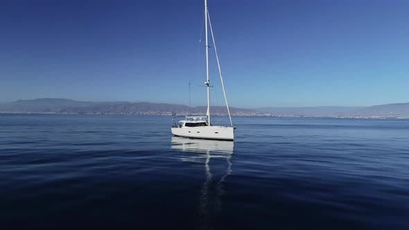 Thumbnail for Sailboat Floating on Tranquil Sea