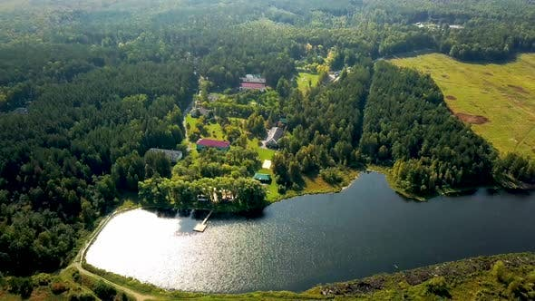 Thumbnail for Old Country Resort In Forest By Lake