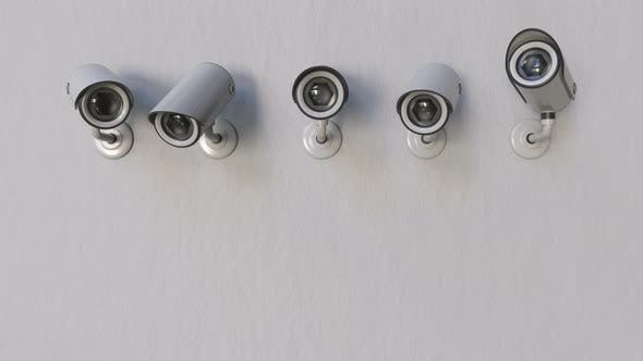 Thumbnail for CCTV Cameras Strart To Track the Object