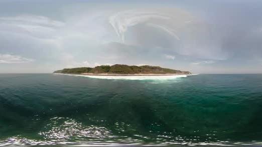 Thumbnail for Meerlandschaft mit Strand Vr360