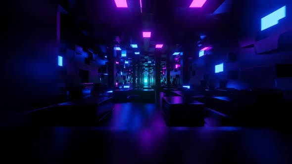 Thumbnail for Purple Neon Tunnel