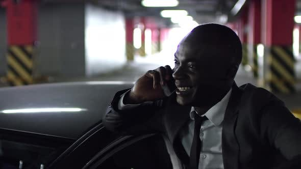 Thumbnail for African Businessman in Parking Lot