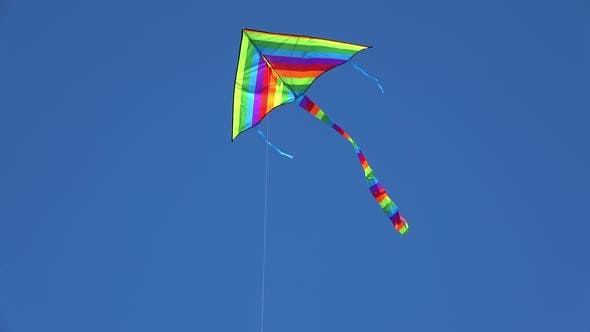 Thumbnail for Colorful Color Kite In The Sky