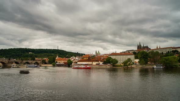 Cloudy Day in Prague