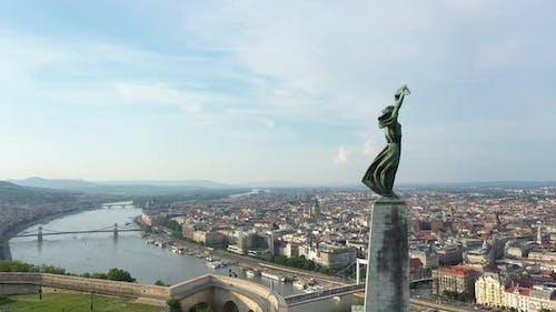 Liberty Satue on the Gellért Hill