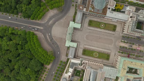 Thumbnail for Empty Brandenburg Gate in Berlin Central with No People During Coronavirus COVID-19 Pandemic and