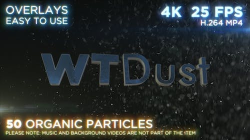 Real Particles WTDust in 4k