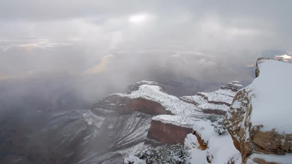Thumbnail for Time lapse over looking the Grand Canyon