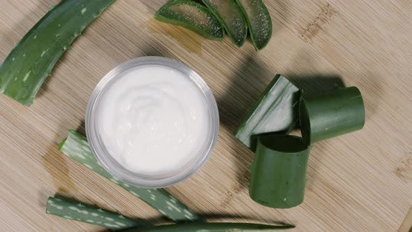 Thumbnail for White Aloe Vera Cream Rotational Display