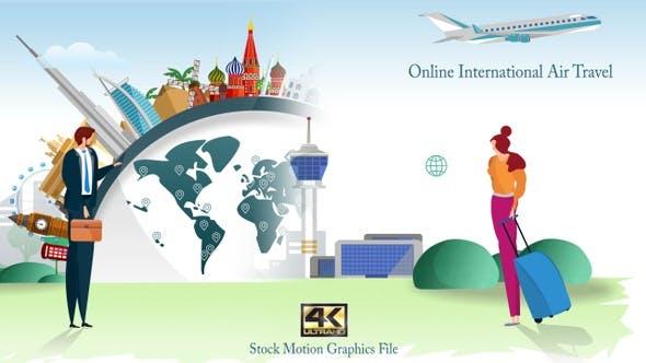 Thumbnail for Online International Air Travel