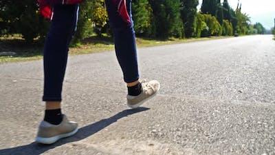 Woman Walking  2