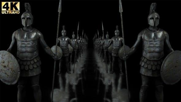 Ancient Warriors Statues