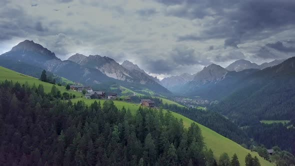 Thumbnail for Aerial Flight Over the Dolomites