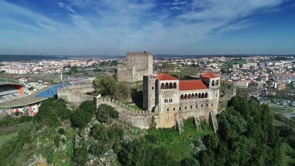 Thumbnail for Medieval Templar Knights Castle in Leiria