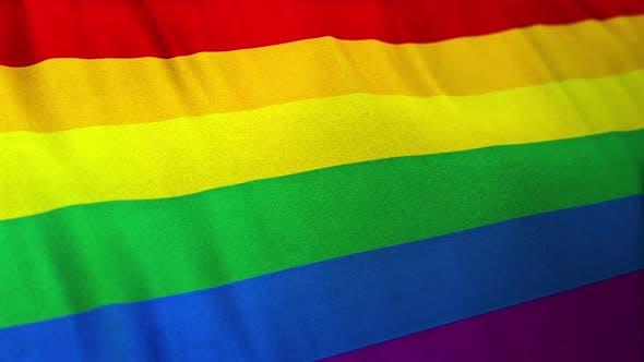 Thumbnail for Rainbow Gay Pride Flag Loop