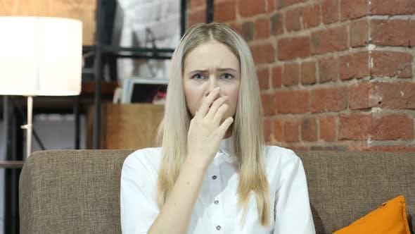 Shock, Upset  Woman on Indoor