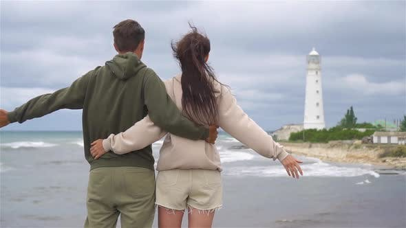 Thumbnail for Family of Two Walk To the Lighthouse