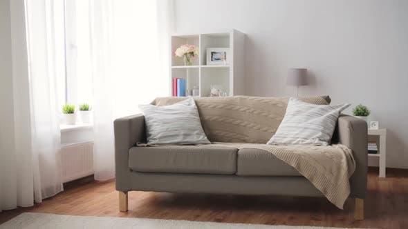 Thumbnail for Sofa with Cushions at Cozy Home Living Room 5