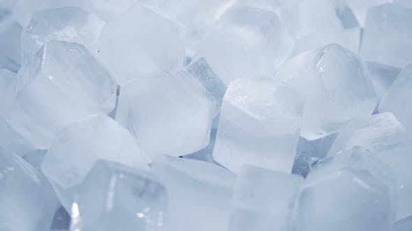 Thumbnail for Macro Shot of Ice Cubes From Clear Water