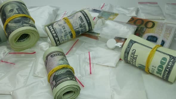 Dirty Money Profit From The Sale Of Cocaine