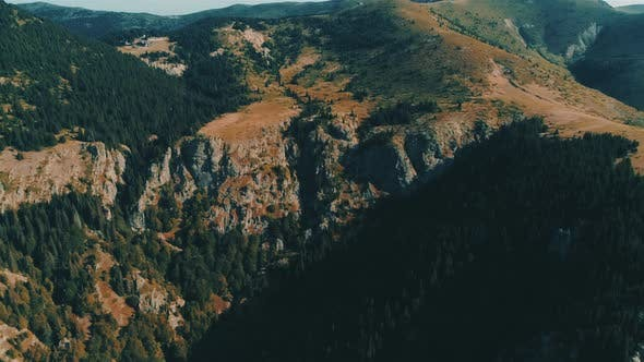 Fly Over Mountain in Bulgaria Dobrila