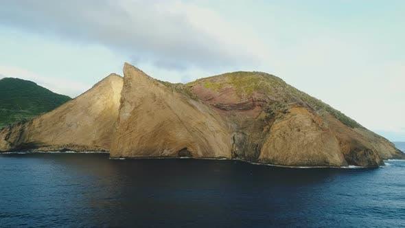 Thumbnail for Huge Rock Cliff In The Atlantic Ocean
